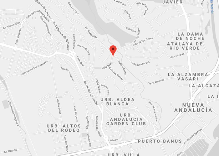Localización InchBar Comida asiática - Restaurantes en Nueva Andalucía