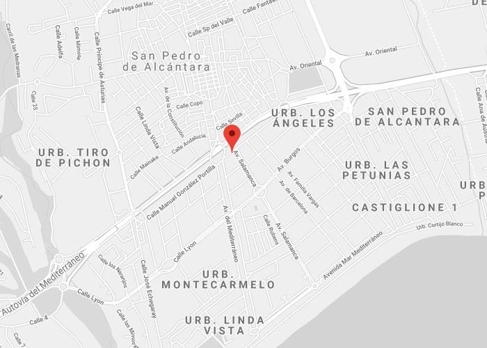 Localización InchBar Comida asiática - Restaurantes en San Pedro Alcántara